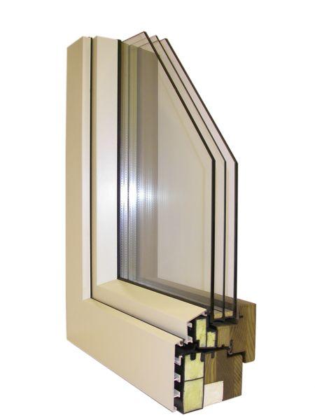 Falso telaio in legno per finestre affordable telai e - Telaio finestra legno ...